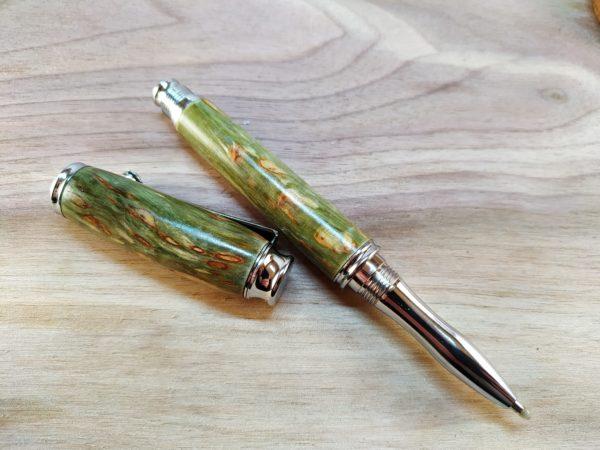 Dřevené pero kuličkové karelská bříza