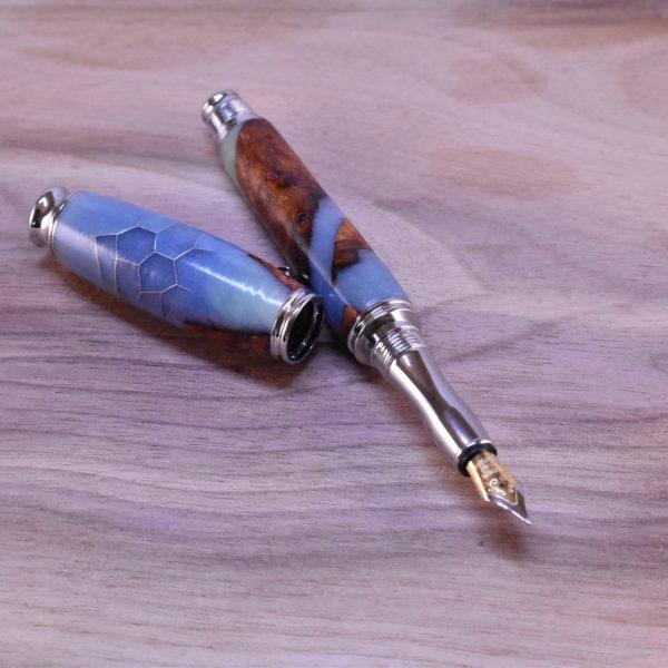plnicí dřevěné pero